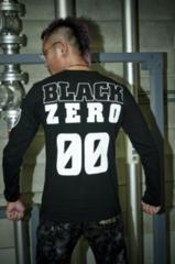 半額スタート)BLACK ZERO「00」ロンT (Rebel
