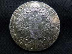 1780年オーストリア  マリア テレジア 銀貨28.0g
