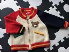 ミキハウスかわいいセーター80