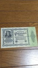 ドイツインフレ紙幣50,000マルク 1922