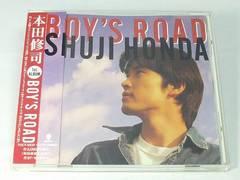 本田修司CD BOY'S ROAD 廃盤