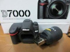 社外品 Nikon ニコン D7000型 USBメモリー4GBミニチュア