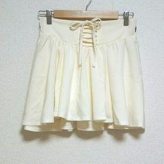即決!! SALE!! 新品タグ付 レースアップ ミニスカート
