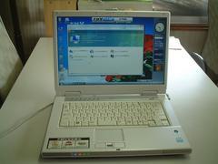 すぐ使える Vista ワイド マルチ 無線  FMV-NF50W 120G