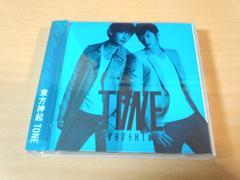 東方神起CD「TONE」DVD付 韓国K-POP●