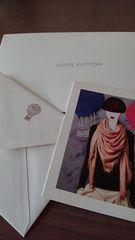 ルイヴィトンpostcardと封筒のセット �C