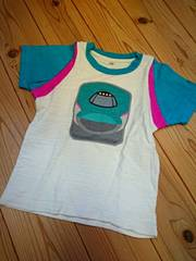 はやぶさTシャツ*新幹線Tシャツ/半袖☆100