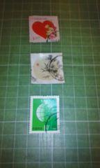 中国郵政CHINA切手3枚使用済み♪