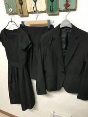 イマージュ/IMAGE ワンピース×ジャケット×パンツ 3点セット スーツ 7 入学卒業式