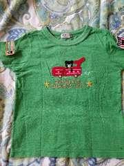 ミキハウス。ダブルB。Tシャツ美品。110cm