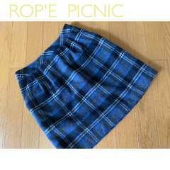 =>>ROP'E PICNIC☆チェック柄タイトスカート