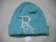 wb737 ROXY ロキシー ニット帽 ビーニー 緑