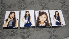 元AKB48板野友美☆公式生写真〜2010年April 4枚セット!