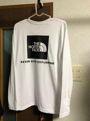 ノースフェイス 直営店限定 長袖シャツ
