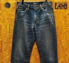 廃盤リーLEEライダース・30101復刻ジッパーフライ W31・股下77cm