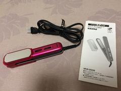 モッズヘア海外兼用携帯用コンパクトヘアアイロンストレート