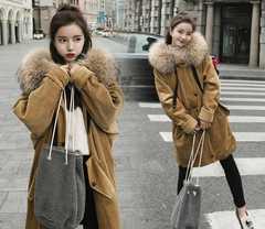 上品質 レディース中綿コート ロングコート S~XL/AK29