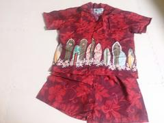 ALOHA REPUBLIC 4Tサイズ 新品 アロハとパンツのセット