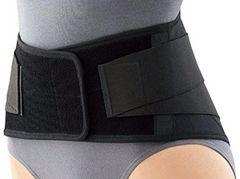 【3L】腰痛、ぎっくり腰対策に★薄型メッシュ素材のコルセット