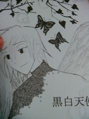 ツバサ黒ファイ同人誌黒白天使