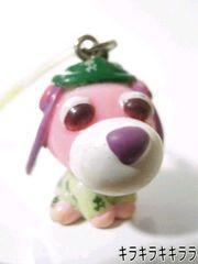 おーいお茶*ノベルティ★お茶犬…ストラップレア