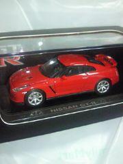 京商 NISSAN 日産自動車 SKYLINE スカイライン GT-R R35 レッド ミニカー 箱