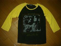 ルードギャラリーRUDE GALLERYラグランカットソー2黒黄ロンT