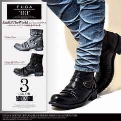 FUGA レザー ブーツ/CIVARIZE CavariA VANQUISH