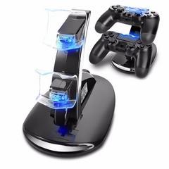 PS4 コントローラーLED充電スタンド  miniUSB  2台同時充電