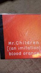 Mr.Chirldren[(an imitation) blood orange]パンフレット