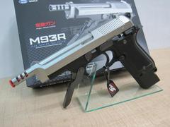 ☆東京マルイ 電動ハンドガン M93R SILVER SLIDE 新品