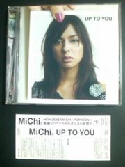 (CD)MiChi/ミチ☆UP TO YOU帯付きフルアルバム即決価格