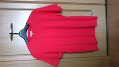 激安76%オフEA、エンポリオ・アルマーニ、Tシャツ(美品、赤、日本製、M)
