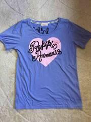used【レピピアルマリオ】M/Tシャツ/青紫色系/ロゴが可愛いよ!