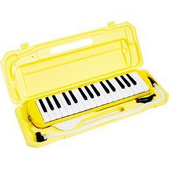 鍵盤ハーモニカ メロディピアノ P3001-32k  イエロー