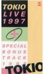 ☆VHSビデオ☆TOKIO ライヴ1997+スペシャル・ボーナス・トラック1998☆