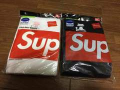 Los Angeles 購入 新品未使用 supreme ×hanes tagless 3 pack T