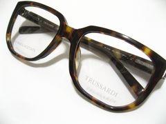 トラサルディ世界最高ウェリントン.シャルマン鯖江ハンドメイド最高美.鼈甲柄眼鏡フレーム