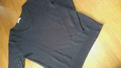 guアクリル100%セーターブラックSサイズ