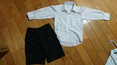 110フォーマル★シャツ&ズボンセット美品