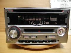 ★KENWOOD CD/MD DPX-055MDS 取説 点検整備済★