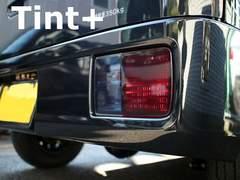 Tint+何度も貼れる 新型エブリイ DA17V テールランプ スモークフィルム