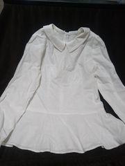 綿麻 可愛いシャツ  新品同様商品