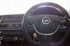 3色から選択/BMW ステアリング ハンドル メッキリング i8風