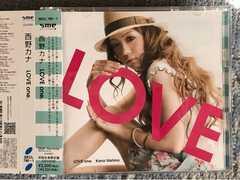 激安!激レア!☆西野カナ/LOVEone.☆初回限定盤/CD+DVD☆超美品!