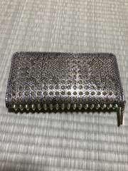 サイフ 財布 蛇 スネーク ゴールド トゲトゲ ルブタン