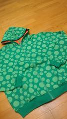 LEMAR&DAULEYレマーリバーシブルジップパーカー サイズXL 緑オレンジ