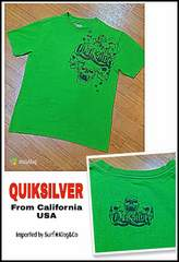 QUIKSILVER-T☆本物USA直輸入モデル!!希少USED激安!!