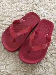 ビーチサンダル 赤 20cm