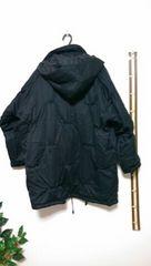 フード外せる綿ジャケット♪破格ですタグ無。ユッタリfree